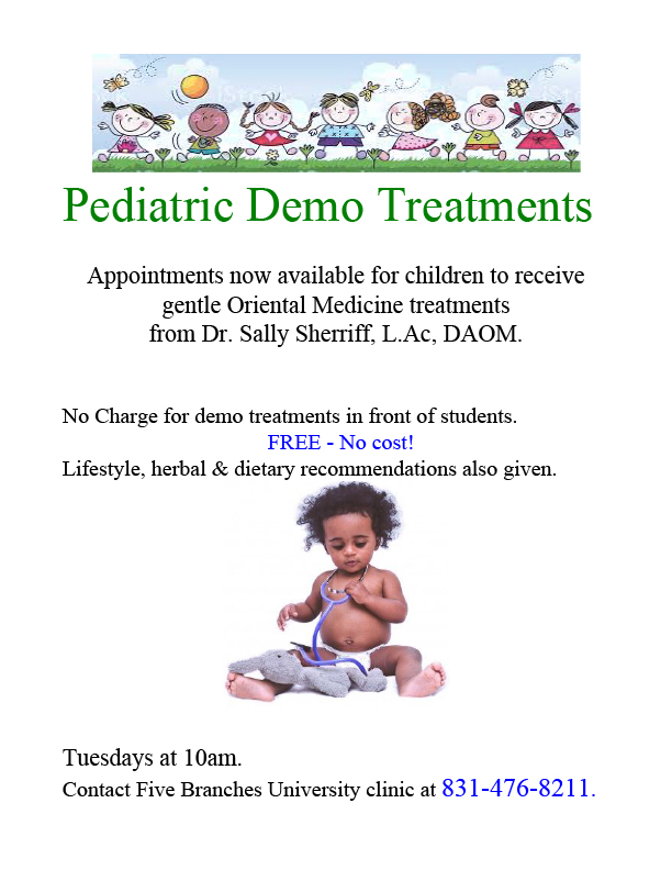 pediatric demo flyer